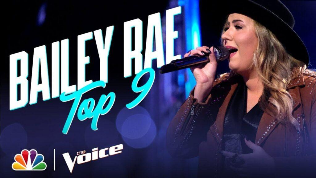 Bailey Rae Voice Top 9